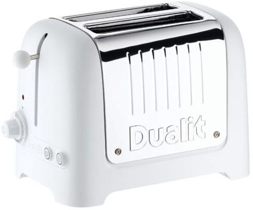 Dualit Lite 2-Slot White CE WHI