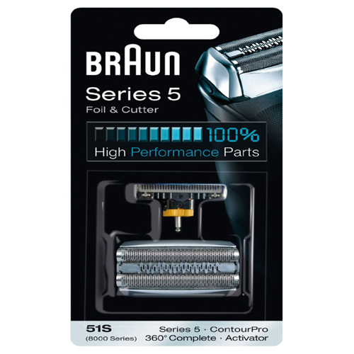 Braun 51S Multi Silver Combi Pack