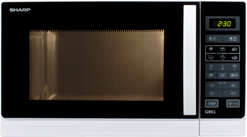 Sharp R-742WW Grill funktion