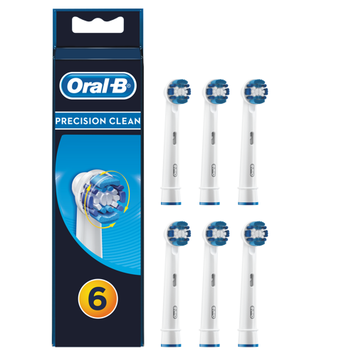 Oral-B Precision Clean 6-pack