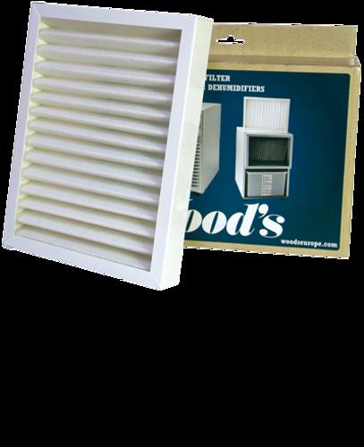 Woods ramme med SMF filter til DS, ED og TDR-modellerne