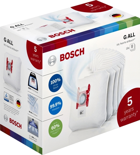 Bosch BBZ16WGALL 16 påsar