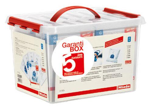 Miele 5 års GarantiBox Förlängd garanti + 4 pk påsar
