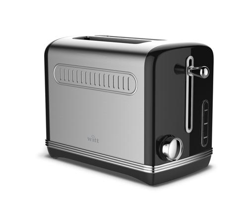 Witt Vintage toaster black