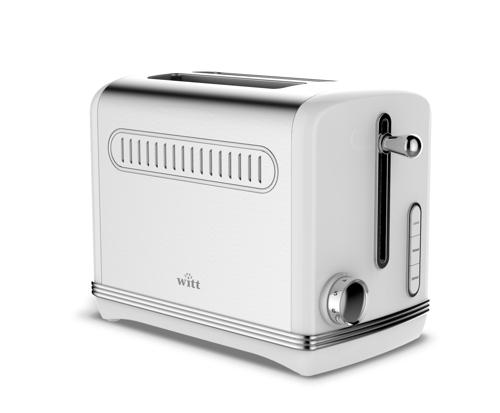 Witt Vintage toaster white