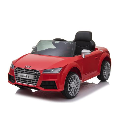 Nordic Play Speed Audi Tts Elbil Roadster 12v Til Børn - Rød