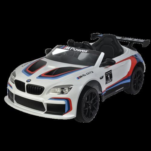 Nordic Play Speed Bmw Elbil M6gt3 12v Hvid Til Børn -