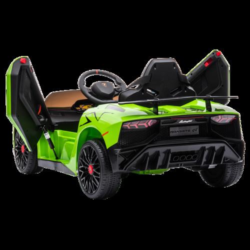Nordic Play Speed Lamborghini Aventador Sv, 12v Elbil Til Børn