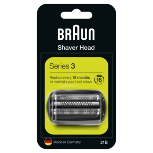 Braun Combipack 21b Tillbehör Till Rakning - Svart