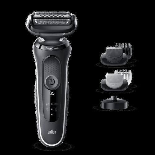 Braun Series 5 Shaver 50-w4650 Cs Rakapparat - Vit