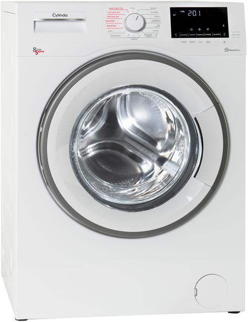 Cylinda Fttk5685x Kombinerad Tvätt/torkmaskin - Vit