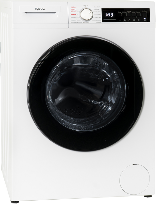 Cylinda Fttk4275e Kombinerad Tvätt/torkmaskin - Vit