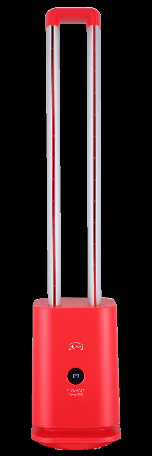 Djive Tower One Red Fläkt
