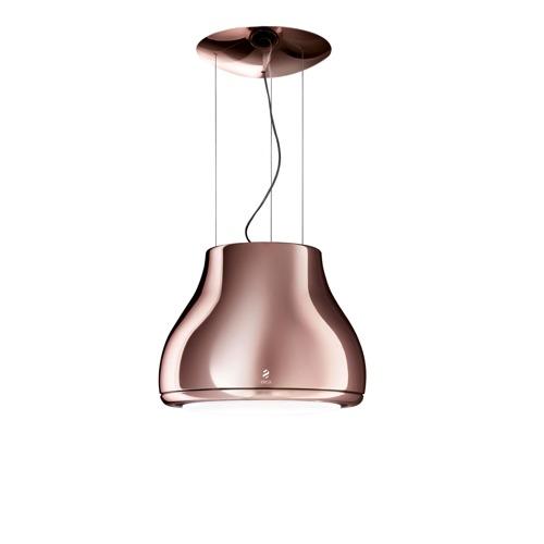 Eico Shining Copper Frihängande Köksfläkt - Koppar
