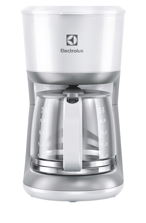 Electrolux Ekf3330 Kaffebryggare - Vit