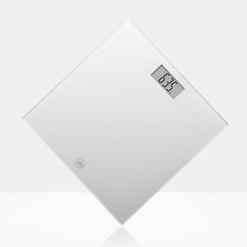 Obh Classic Light White Badevægt - Hvid