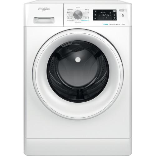 Whirlpool Ffb 8638 Wv Eu Steamcare & 8 Kg Vaskemaskine - Hvid