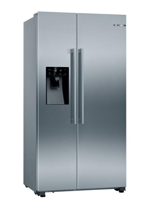Bosch Kad93vifp Side-by-side Kylskåp - Rostfritt Stål