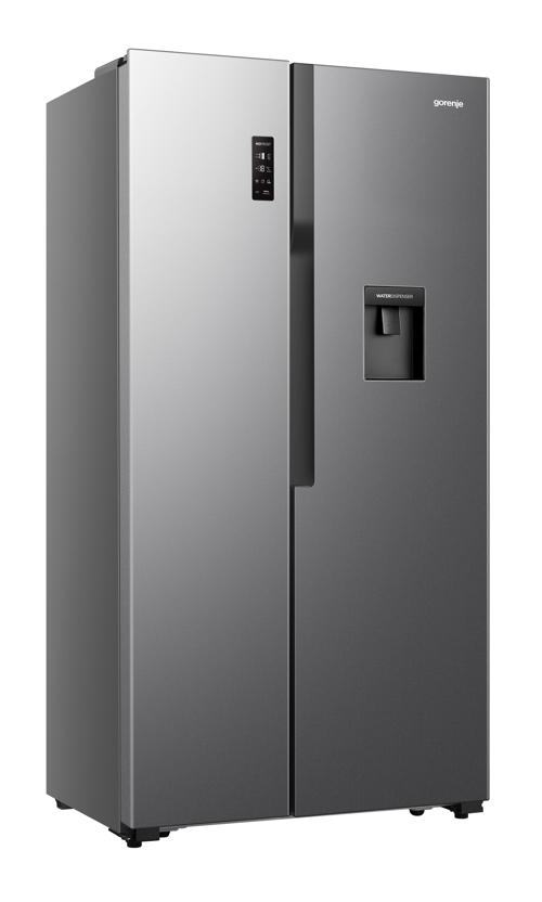 Gorenje NS9FSWD Amerikanerkøleskab - Antracit / Sølvgrå