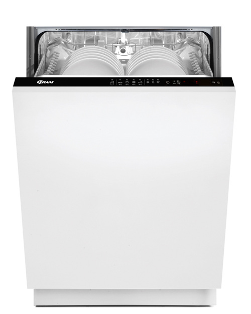 Gram Omi60-08/1 Integrerbar Opvaskemaskine - Hvid