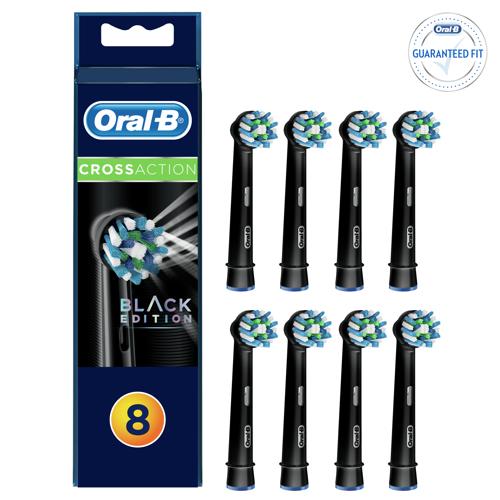 Oral-b Eb50bk 8er Cross Action Black Edition Tillbehör Till Tandvård