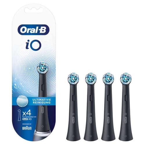 Oral-b Io Ultimate Clean Black 4er Tillbehör Till Tandvård