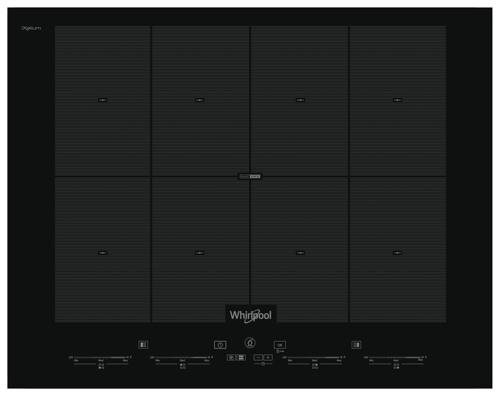 Whirlpool Smo 658 C/ne/ixl Induktionskogeplade - Sort/glas