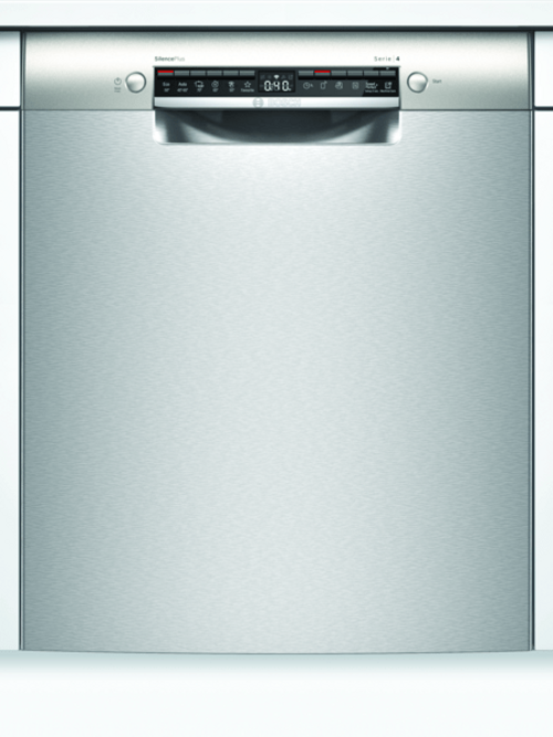Bosch Smu4eai14s Inbyggda Diskmaskin - Rostfritt Stål