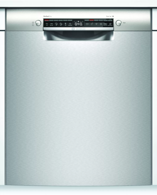 Bosch Smu6zai00s Inbyggda Diskmaskin - Rostfritt Stål