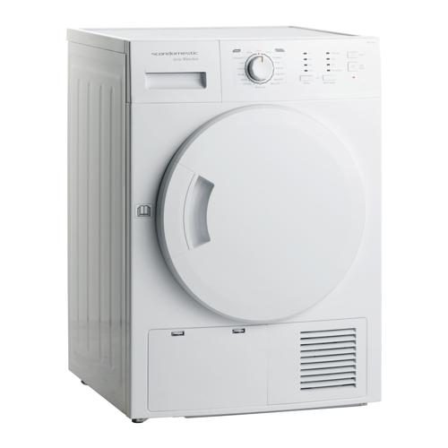 Scandomestic Trk 1020 Kondenstørretumbler - Hvid