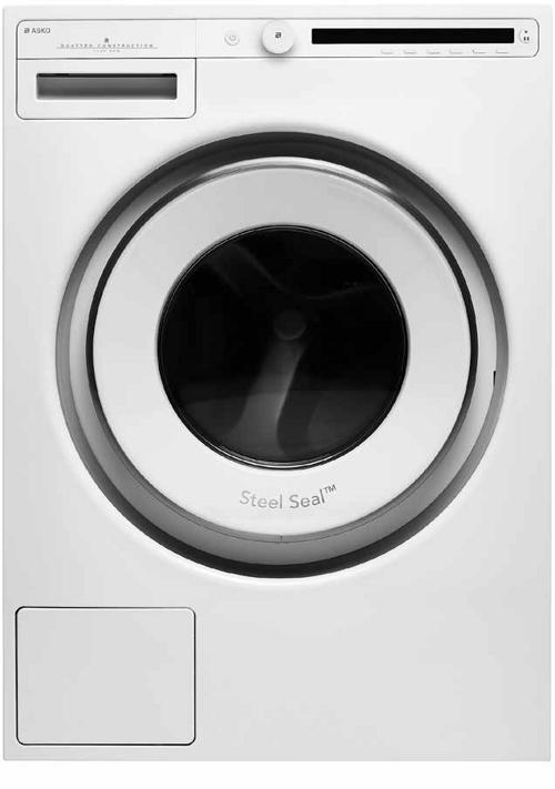 Asko W20864c.W2 Tvättmaskin - Vit