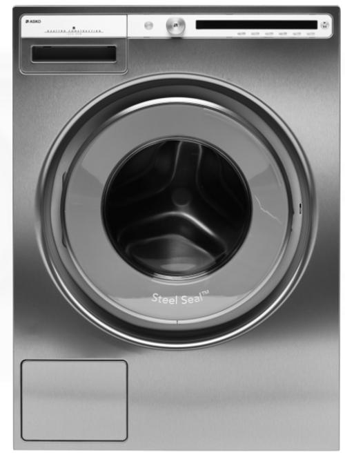 Asko W4086c.S2 Tvättmaskin - Rostfritt Stål