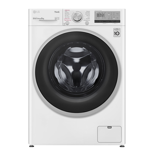 LG W4wv408s1we Vaskemaskine - Hvid