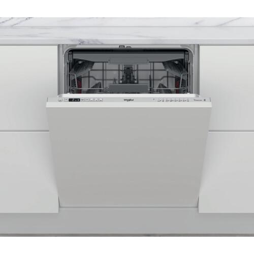 Whirlpool Wic3c34pfes Integrerbar Opvaskemaskine - Rustfrit Stål