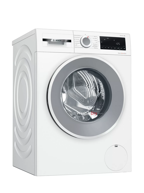 Bosch Wna144l9sn Serie 6 Kombinerad Tvätt/torkmaskin - Vit