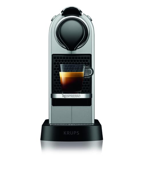 Nespresso Citiz, 1,0 L., Silve R Kapselmaskin - Silver