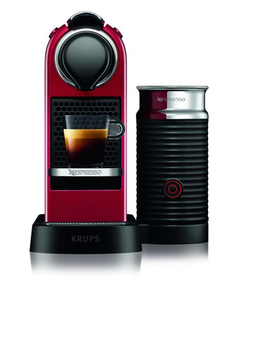 Nespresso Citiz & Milk, 1,0 L. , Red Kapselmaskin - Röd