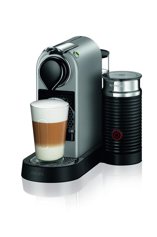 Nespresso Citiz & Milk, 1,0 L. , Silver Kapselmaskin - Silver