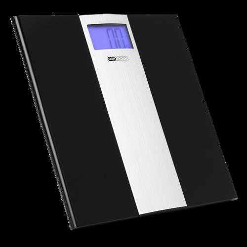 Obh Slim Light 6271 Badevægt - Sort/sølv