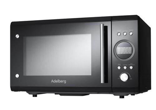 Adelberg Hgf25enid0ts1 Mikrovågsugn - Svart