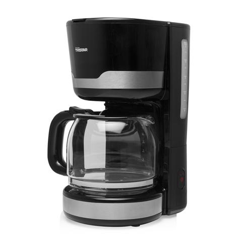 Albaline Kaffemaskine Kaffebryggare - Svart/silver