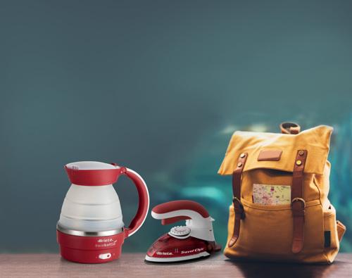 Ariete Travel Kit 7993 Vattenkokare - Röd