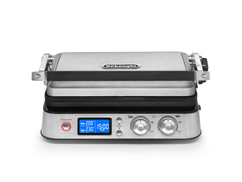 Delonghi Cgh1020d Bordsgrill - Stål