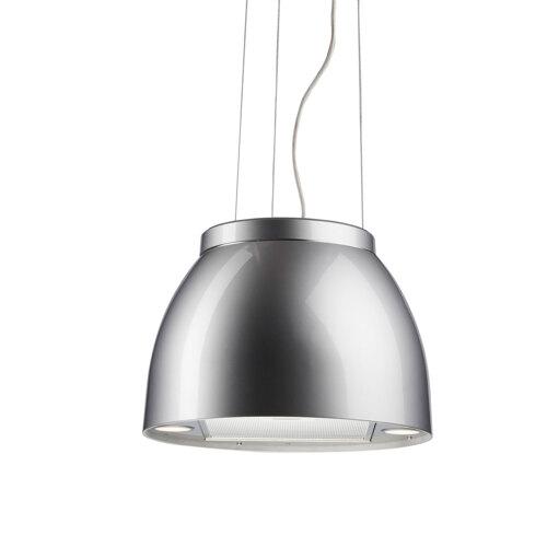 Eico Luna Aluminum - Link Vajerhängda Köksfläkt - Aluminium