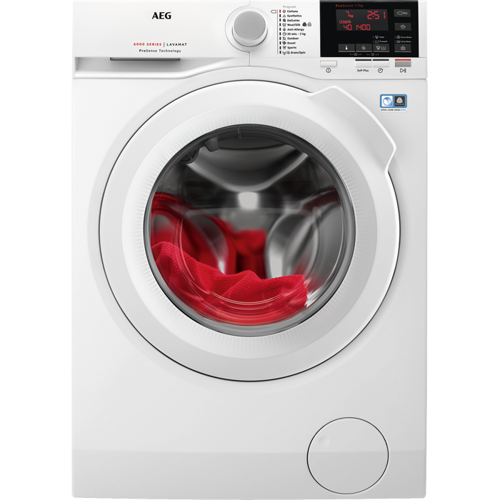 Aeg L6fbe740g Tvättmaskin - Vit