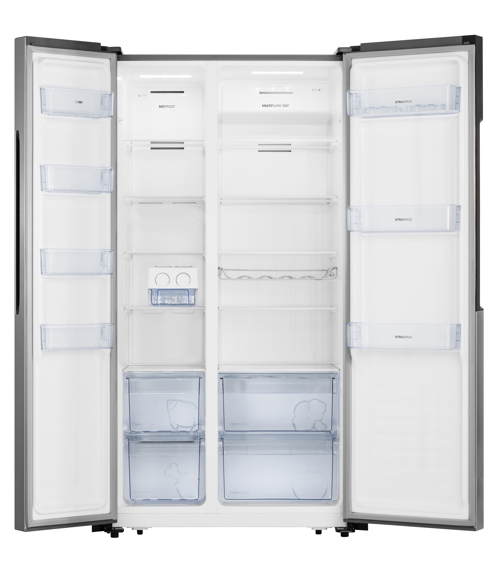Gorenje Nrs9182mx Side-by-side - Stål