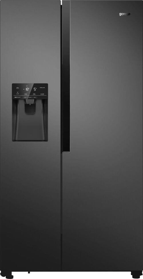 Gorenje Nrs9182vb Side-by-side - Svart