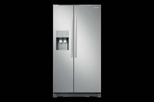 Samsung Rs50n3403sa Amerikanerkøleskab - Stål
