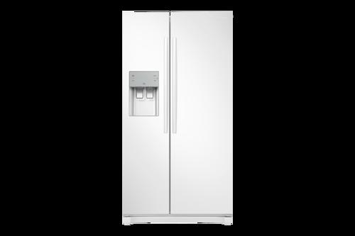 Samsung Rs50n3403ww Amerikanerkøleskab - Hvid