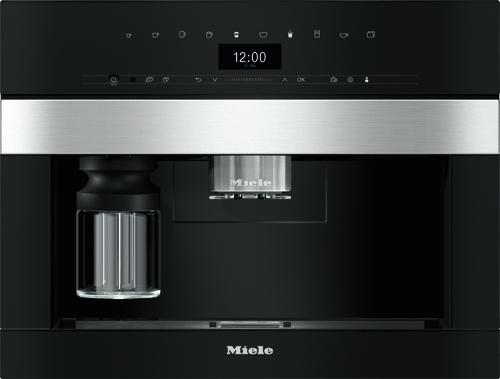 Miele Cva7440clstner Inbyggd Kaffemaskin - Svart/silver
